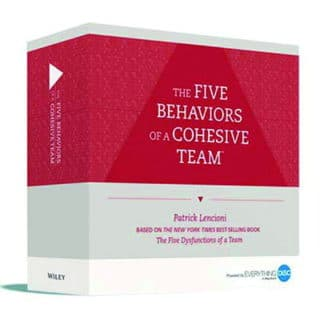 Five Behaviors Facilitation Kit Box 1