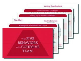 Five Behaviors Take-Away Cards